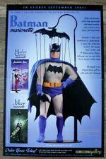 Batman Marionette 2005 Joker Harley Quinn Statue DC Direct Comic PROMO Poster VF