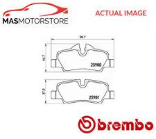 P06090 BREMBO REAR BRAKE PADS SET BRAKING PAD P NEW OE REPLACEMENT