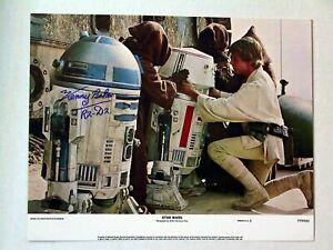 "1977 Star Wars USA Lobby Card set of 8 Reprinted Lobby Cards 11"" x 14"" Each Mint"