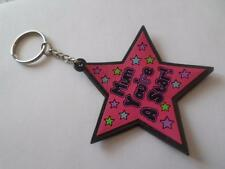 """MUM YOU'RE A STAR"" KEYRING - MOTHERS DAY GIFT. BIRTHDAY GIFT. XMAS PRESENT"