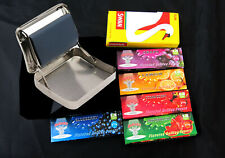Metal Rolling Machine Regular Size Flavoured Papers Swan Cigarette Filter Tips