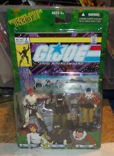GI Joe Valor Vs. Venom SCARLETT SNAKE EYES TRACKER KWINN Comic 3-Pack 2004