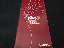 Gibson Japanese Catalog Book in 1976 Les Paul SG ES-335 175 Byrdland Amp Bass