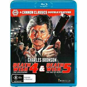 Death Wish 4 & 5 (Blu-Ray) NEW/SEALED
