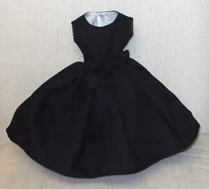 "18""   Miss REVLON  DOLLIKIN   FASHION  Clothes   FABULOUS  ""LITTLE  BLACK DRESS"""