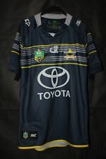 NORTH QUEENSLAND COWBOYS RUGBY NRL SHIRT 2016 2017 ISC TOYOTA SIZE XL