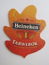Beer Coaster: Heineken Tarwebok Bier - Zoeterwoude Netherlands Brewery Est 1873