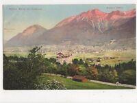 Schloss Amras Mit Innsbruck Austria Vintage Postcard 391a