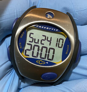 Freestyle ECG 4 Heart Rate Monitor Watch. Used Missing transmitter. New battery