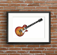 Mike Bloomfield's 1959 Gibson Les Paul Standard - POSTER PRINT A1 size