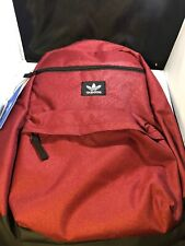 Adidas Original National Backpack Maroon/ Blk Backpack One SiZe # CJ6390