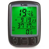 Sunding SD-563B 27 Fonctions Vélo Ordinateur Extérieur Compteur de Vitesse LCD
