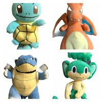 Pokemon Beanie Pansage, Squirtle, Charizard, Bulbasaur Plush Soft Toy Ty Cartoon