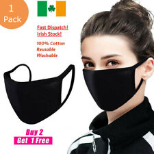 Face Mask Covering Washable and Reusable 100% Cotton Unisex