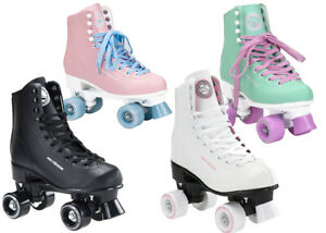 Rollschuhe Skates Rollerskates Damen Inliner Disco Retro Skates Sport NQ8400S