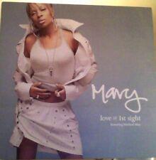 "Mary J Blige love @ first sight feat. Method Man vinyl 12"""