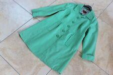 MONSOON Apple green Linen fitted spring / summer coat UK 18