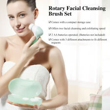 Electric Facial Cleanser Replacement Brush Head Storage Women Face Cleanser