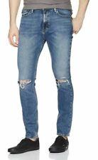 Levis 510 Skinny Fit Stretch Mens Jeans DISTRESSED 30x32 W30/L32 #055100794 Levi