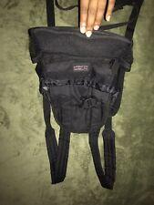 Outward Hound Dog  Front Carrier back pack Black traveler adjustable small