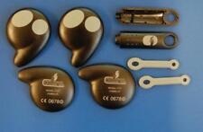 Cobra Coche Alarma Reemplazo 7777 Keyfob Case x2 y casos de clave Touch x2