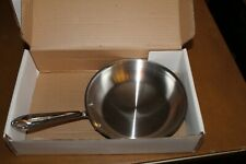 "All - Clad Metalcrafters  7 1/2"" Fry Pan Tri - Ply Stainless Steele  New in Box"