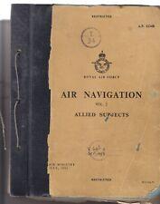 Royal Air Force Air Navigation Vol 2 Allied Subjects Sep 1958