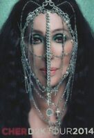 CHER 2014 DRESSED TO KILL TOUR CONCERT PROGRAM BOOK BOOKLET / NEAR MINT 2 MINT