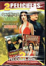2 peliculas: Masacre en las Carreras / Palenque Sangriento, BRAND NEW SEALED DVD