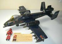 1984 GI Joe Cobra Rattler Attack Jet Wild Weasel File Card Lot *Near Complete