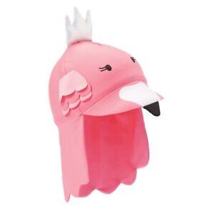 Mud Pie E1 Summer Baby Girl Flamingo Swim Hat Choose Size 16010046