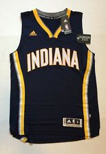 "adidas Indiana Pacers NBA Swingman Wordmark Jersey Mens Size M+2"""