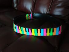 of the piano keyboard Belt with Colorfull picture