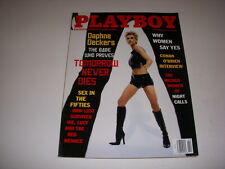 PLAYBOY MAGAZINE, FEBRUARY, 1998, DAPHNE DECKERS, SEX IN THE FIFTIES!