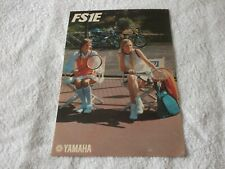 YAMAHA FS1 E( 70s) SALES BROCHURE