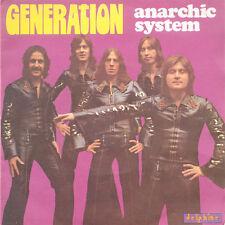 ANARCHIC SYSTEM Generation Wish To Know Why FR Press Delphine 64 016 1975 SP