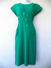VTG 1980s SWEATER DRESS Day Cocktail Party Bodycon All That Jazz Avant Garde M