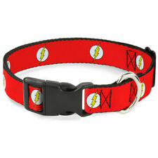 Cat or Dog Collar Clip Licensed DC Comics Flash WFL004