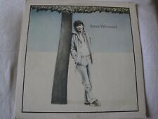 STEVE WINWOOD VINYL LP 1977 ISLAND RECORDS TIME IS RUNNING OUT, MIDLAND MANIAC