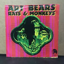 "Art Bears - Rats & Monkeys & Collapse 7"" Henry Cow Residents Ralph Records"
