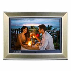 XElectron 15 Inch IPS Digital Photo Frame Full HD 1920×1080 with Remote