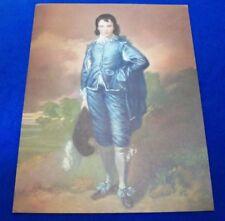 Vintage Thomas Gainsborough Jonathan Buttall: The Blue Boy 12 X 16 Lithograph