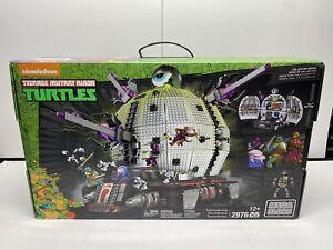 Teenage Mutant Ninja Turtles Technodrome Set Mega Bloks Tmnt 31501 Dpd82