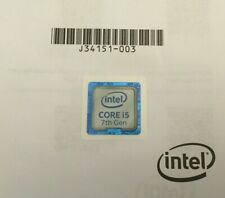 Intel Core i5 7th. Gen. Sticker Aufkleber Logo 18mm x 18mm - Notebook Laptop PC