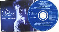Celine Dion - Only One Road 1994 EU 3 Track CD Single Epic 661353 2