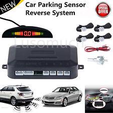 Car LED Parking Sensors Reverse System Backup Radar For Vehicle Reversing MC