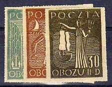 POLOGNE Oflag Camp de Gross Born Fischer timbre n° 9/11 neuf sans charnière