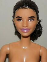 BARBIE DOLL BLACK HAIR AA ARTICULATED ETHNIC LATINA FASHIONISTA ALEC FACE NUDE