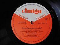 ♫♫♫ AMIGA Neuerscheinungen - Juni 1967 * Sp.U. 0415 Promo LP ♫♫♫