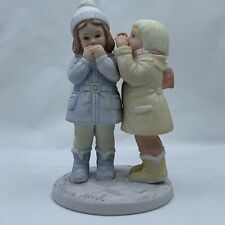 """1985 Frances Hook Roman Figurine """"Don't Tell Anyone"""" Vintage A Childs World"""